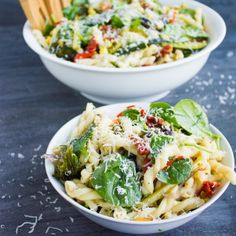 This Roast Veggie Pasta Primavera shouts fresh, gorgeous, vibrant veggie goodness that you won't believe how easy it is to pull together!