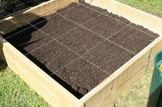 square foot vegetable garden boxes