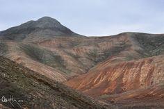 Montañas de Fuerteventura.