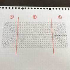 では長方形底と楕円底の解説をしていきます。 この解説は、私の勝手な解釈ですのでプロが考える解釈とは違います。 またこの人おかしな事言ってるよみたいに上から目線でご覧ください(笑) 編み図を中心に話を進めますので、実際に細かな編み方を知りたい方がいらっしゃいましたらご連絡下さ...
