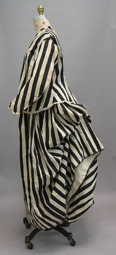 Bathing Suit.  Late 1860s-1870s