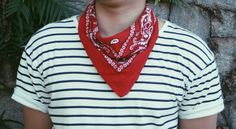 bandana masculina pescoço
