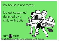 A house designed by #autism
