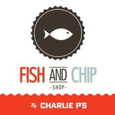 Fish & Chip Shop - MAKI Menu Design, Ad Design, Graphic Design, Fish And Chips, Candy Logo, Fish And Chip Shop, Best Logo Design, Logo Branding, Logos