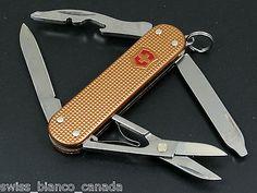 Swiss Bianco Victorinox Rambler Copper Alox Swiss Army Knife IMPERFECT