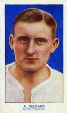 Albert Geldard of Bolton Wanderers in 1938.