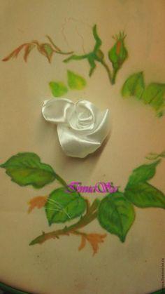 DIY Beautiful Embroidery Satin Ribbon Roses   iCreativeIdeas.com Follow Us on Facebook --> https://www.facebook.com/iCreativeIdeas