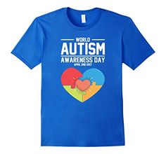 Men's World Autism Awareness Day T-Shirt 2XL Royal Blue m... https://www.amazon.com/dp/B06XKBSHRH/ref=cm_sw_r_pi_dp_x_y2MXybERZ7NX5
