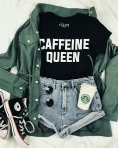 leichte Sommeroutfits - Sommer Outfits & OOTD - Source by grungepinbaby summer outfits casual Cute Teen Outfits, Cute Comfy Outfits, Teenager Outfits, Cute Casual Outfits, Outfits For Teens, Stylish Outfits, Easy Outfits, Geek Chic Outfits, Teenage Girl Outfits