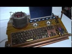 awesome Do it yourself Computer system steampunk