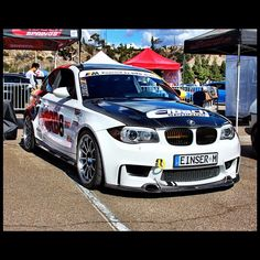 Eibach-equipped BMW 1M