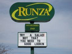 Runza restaurants originated in Lincoln, Nebraska in 1949.