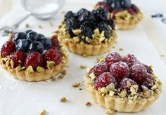 Make your next fruit tarts with a pâte sucrée crust - it's crispy and crunchy, just like a cookie!