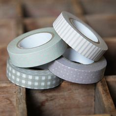 patterned masking tape! #tape