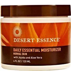 Desert Essence Daily Essential Moisturizer 4 fl oz ASD ME Emergency Preparedness Items, Desert Essence, Environmental News, Normal Skin, Live Long, Healthy Alternatives, Asd, Natural Health, Healthy Life