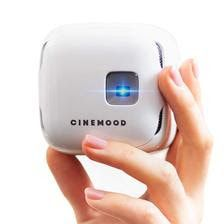 The CINEMOOD portable movie theater turns any location into a private theater. This mini portable movie projector allows you to access Disney Home Cinema Projector, Portable Projector, Home Theater Projectors, Pico Projector, Netflix Streaming, Netflix Videos, Amazon Prime Video, Wall Outlets, Gadgets And Gizmos