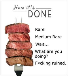 Is Your Steak Done?