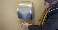 Hand Dryers Suck in Fecal Bacteria and Blow it All Over Your Hands, Study Finds - HealthyLifeBoxx Hand Dryer, Family Safety, Flush Toilet, Emergency Preparation, Skin Mask, Dryers, Natural Health, Study, Hands