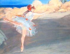 Edgar Degas – The Star: Dancer on Point – 1878 – Norton Simon Museum, Pasadena, California