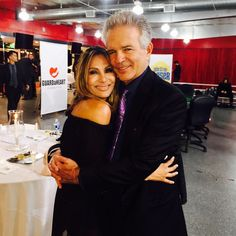 With my buddy Wedil David at the Celebrity Poker Gala! She's a hell of a good player by realtonydenison