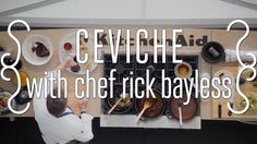 Here's the video on how to make Chef Rick Bayless' Classic ceviche. The recipe is next to this posting. Halibut Recipes, Shrimp Recipes, Entree Recipes, Wine Recipes, Rick Bayless, Ceviche Recipe, Austin Food, Wine Festival, World Recipes