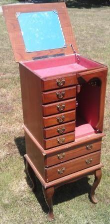 Jewelry Hutch $50