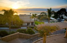 Point Loma Nazarene University, Pt. Loma, CA, minutes from downtown San Diego. Overlooking the Pacific Ocean this campus is beyond beautiful. Small, liberal arts school blending Faith, Academics & Community.