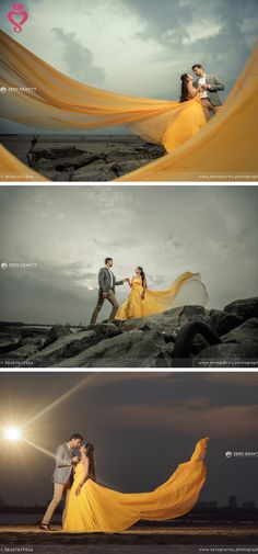 Story Shot - Bride and Groom in a Nice Outfits. Pre Wedding Shoot Ideas, Pre Wedding Poses, Pre Wedding Photoshoot, Wedding Couples, Indian Wedding Couple Photography, Couple Photography Poses, Fairy Photography, Desert Photography, Creative Photography