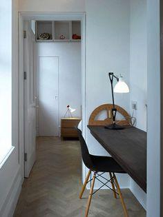 Home office inspiration. Interior Exterior, Interior Architecture, Interior Design, Mini Loft, Sweet Home, Home Decoracion, Home Office Space, Office Nook, Desk Space