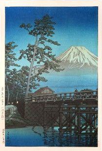 Mt. Fuji in Moonlight