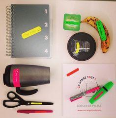 Où comment être au top de l'organisation, étiquettes A-qui-S, bureau, desk, bazar, rangement, étiquettes