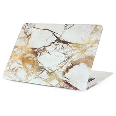 Marble and Gold Macbook Air 13 inch Case Office Decor #HomeDecor #Ad