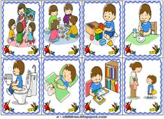 1 million+ Stunning Free Images to Use Anywhere Sequencing Pictures, Story Sequencing, Kids Education, Special Education, Toddler Routine, Beginning Of The School Year, Social Stories, Writing Workshop, Speech And Language