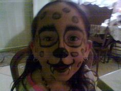 She's a leopard.
