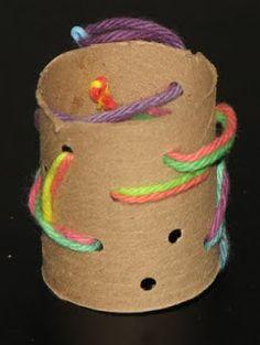Pre Sewing Activities !! ~ Putti's World -kids-activities