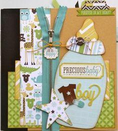 Baby boy mini book