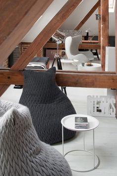 Loft Apartment in Poznan by Cuns Studio. 📷 Hanna Długosz.