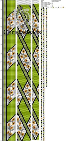 Схемы для жгутов из бисера от ChristaBeads | ВКонтакте