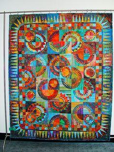 claudiapfeil.de | Show-Quilts-Wheels of Color