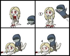 left for dead hunter and witch   Left 4 Dead - Hunter and Witch by Kisviki96