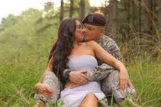 engagement photo ideas military