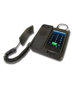 This Desktop Phone for iPhone 4/4s is perfect! #zulilyfinds