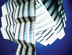 """""""Frank Gehry. De la serie Abstracciones Paisajísticas"""". Muu Blanco"""