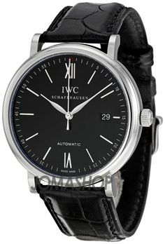 IWC Portofino Black Dial Automatic Mens Watch 3565-02 $3,690