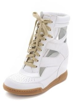 Marc by marc jacobs Cutout Sneaker Wedges on shopstyle.com