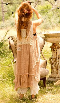 Magnolia Pearl by Natalie Larin Mori Girl, Boho Gypsy, Bohemian Style, Boho Chic, Magnolia Pearl, Moda Mori, Boho Outfits, Vintage Outfits, Grunge Outfits
