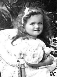 Grand Duchess Olga at about 2 years old. born 15 November 1895, first child