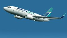 Westjet 737-700 with winglets.  July 2014 YYZ to MCO
