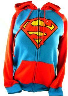 30b7af5918 Supergirl Ladies Hoodie - Classic Superman