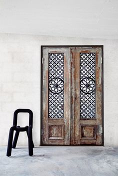 Scandinavian Home Design classic door images Boho Chic Interior, Home Interior, Interior And Exterior, Interior Design, Interior Stylist, Cool Doors, Entrance Doors, Doorway, Front Doors